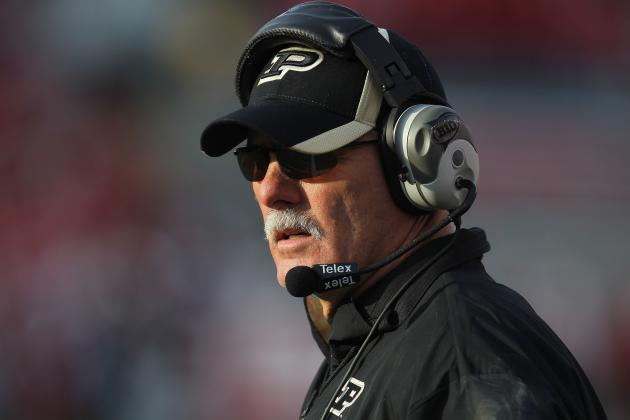Speeches, Effort Aren't Enough to Halt Purdue Football's Slide