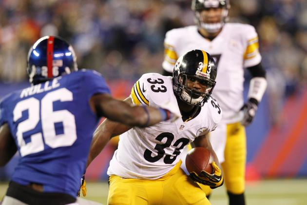 Isaac Redman: Updated Fantasy Profile for Steelers RB After Big Game