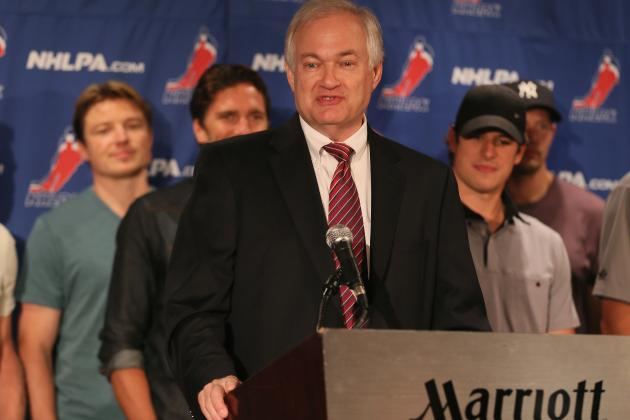 Donald Fehr Expresses Optimism as Talks Resume