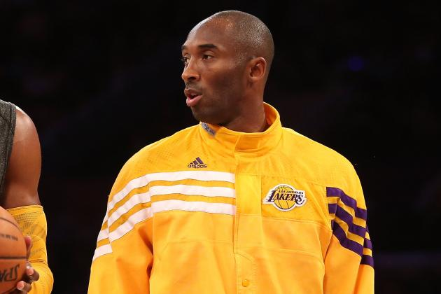 Kobe Misses Practice, Plans to Play Wednesday