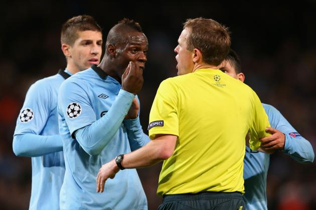 Mario Balotelli Loses His Rag as Manchester City Lose Touch