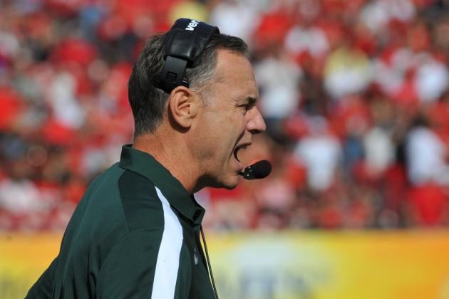 Big Ten Conference Call: Spartan Tweets Have Short Shelf Life
