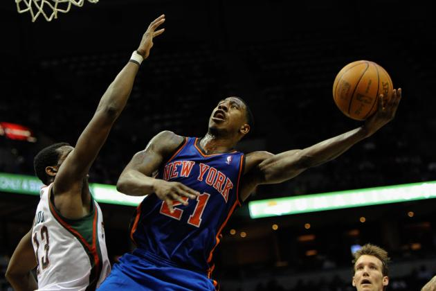 Knicks Rumors: New York Doesn't Need Iman Shumpert to Rush His Return