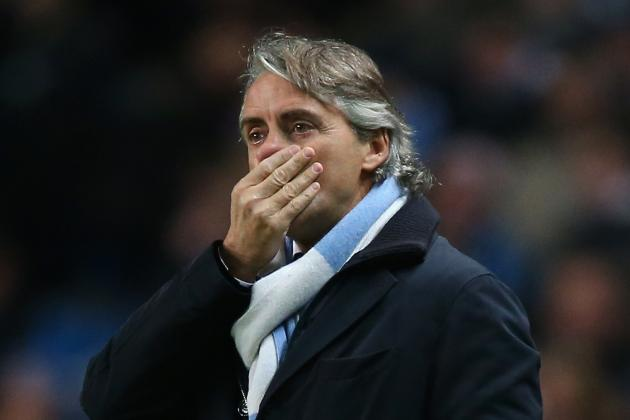 Frustrated Roberto Mancini Rages at Referee