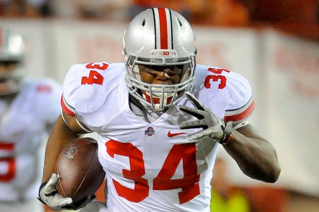 Ohio State Football: Is Carlos Hyde the Best RB Urban Meyer Has Ever Coached?