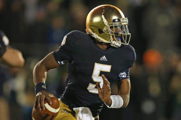 Notre Dame Football: Brian Kelly Must End Fighting Irish's QB Controversy