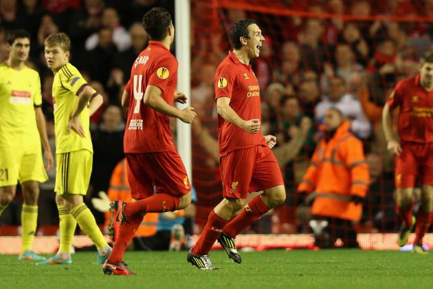 Anzhi 1-0 Liverpool: Reds Defeated in Europa League