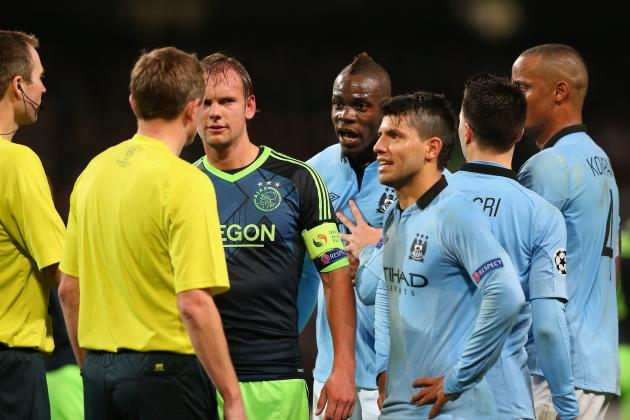 Manchester City to Face No Uefa Action for Ajax Confrontations