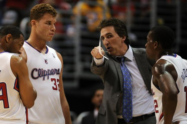 Del Negro: Griffin's Elbow Injury 'Is a Concern'