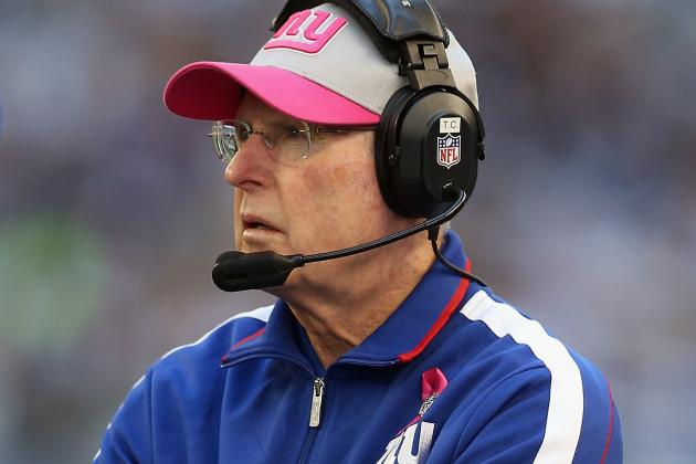 Giants Coach Tom Coughlin Calls His Defense 'Soft'