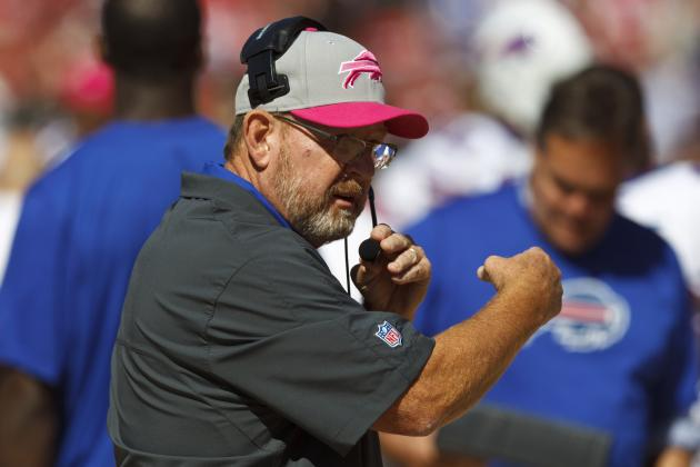 Chan Gailey Knows Ralph Wilson Is Upset with Losing, and Other AFC East News