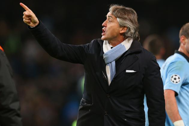 City Boss Roberto Mancini Escapes UEFA Action After Ref Rant