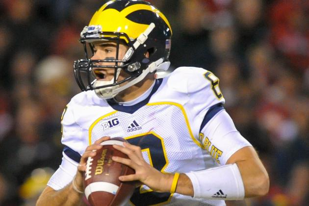 Michigan's Quarterback Situation a Mystery