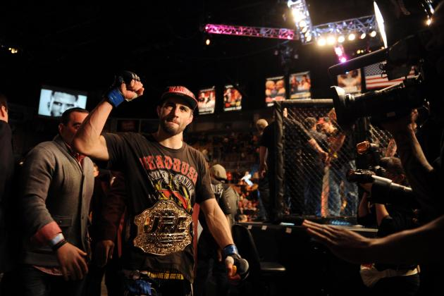 UFC 154: Carlos Condit 'Chomping at the Bit' to Get at GSP