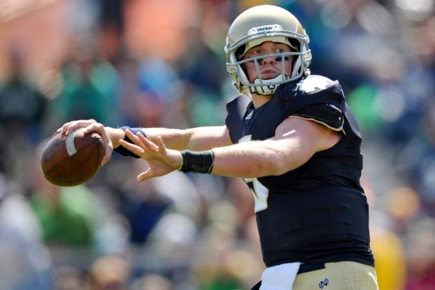 Notre Dame Football: Does It Make Sense for Gunner Kiel to Wait Behind Golson?