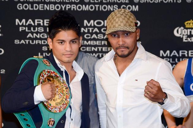 Abner Mares vs. Anselmo Moreno: Fight Time, Date, Live Stream, TV Info and More