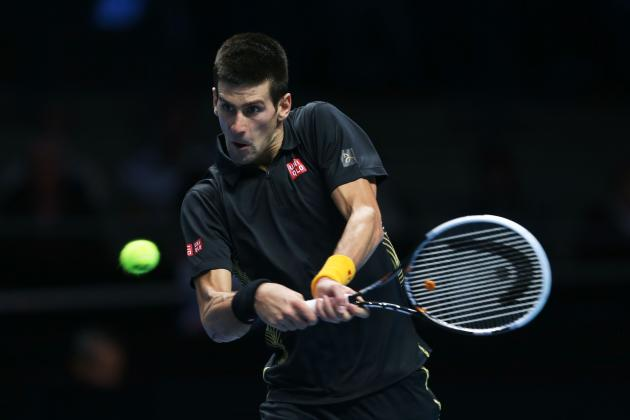 Novak Djokovic Defeats Andy Murray at 2012 ATP World Tour Finals