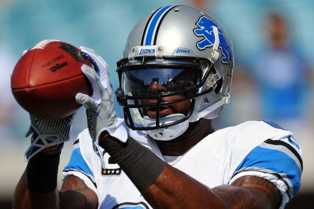 Titus Young, Calvin Johnson Miss Practice with Injuries