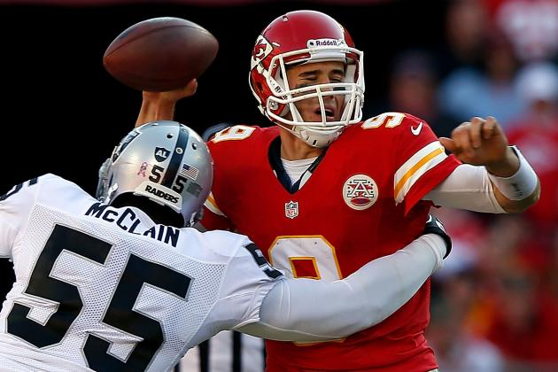 Chiefs: Brady Quinn Not Cleared, Matt Cassel to Start