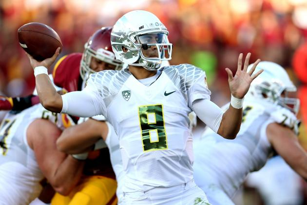 Oregon Ducks Football: Is Oregon Quarterback Marcus Mariota Still Untested?