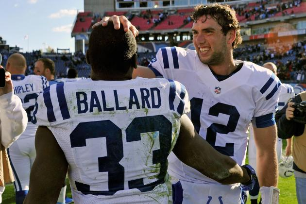 Colts Running Back Vick Ballard Takes on More Responsibility