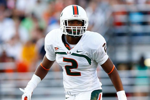 Miami Hurricanes safety Deon Bush likely Out vs. Virginia