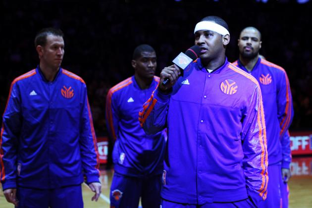 Why Carmelo Anthony Isn't the Only Reason New York Knicks Are Rolling