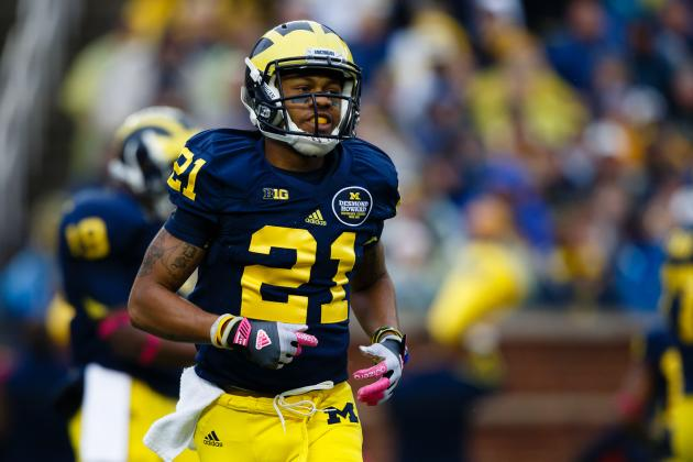 Michigan WR Roy Roundtree, on QB Denard Robinson: 'I Think He's Going to Be OK'