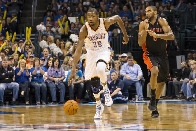 James Harden's Absence Will Force Kevin Durant to Become Elite Passer