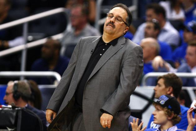 Van Gundy No Fan of Flop Rule