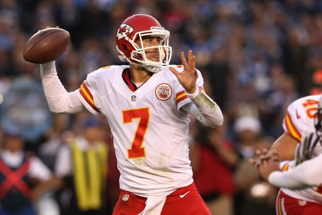 Matt Cassel Starts for Concussed Brady Quinn Again and Other AFC West News