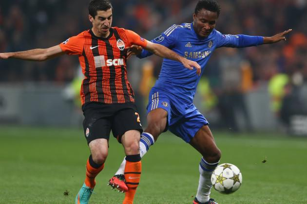 Late Goal by Moses Gives Chelsea 3-2 Win over Shakhtar Donetsk