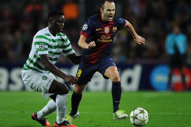 Celtic 2-1 Barcelona: Hoops Shock Barça in Champions League