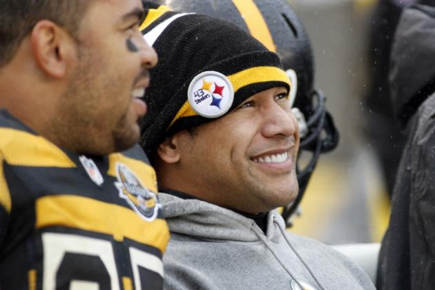 Polamalu brightens Steelers injury report, could return against Ravens