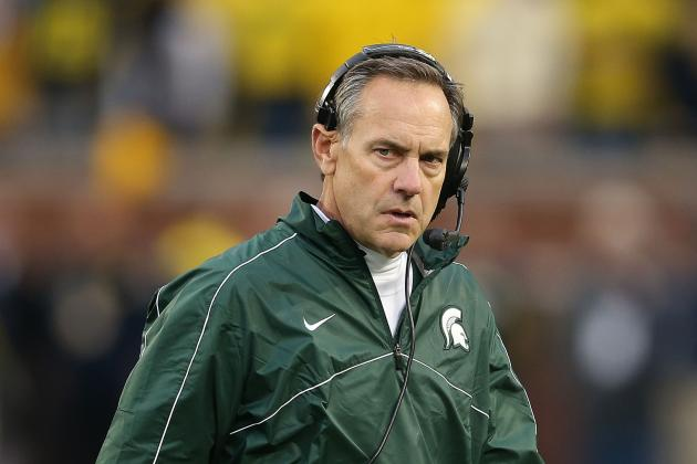 Michigan State's Mark Dantonio States Case to Big Ten Director of Officials