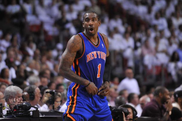 Mike Woodson Must Put Amar'e Stoudemire on Bench for NY Knicks to Keep Jelling