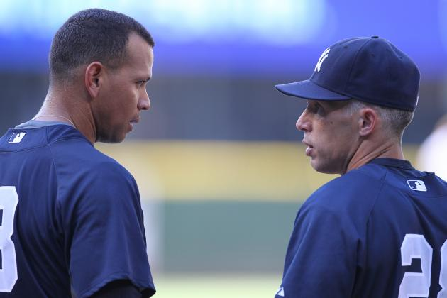 'Protective' Girardi Doesn't Deny Making Press Box Call to Spare Yankees' A-Rod