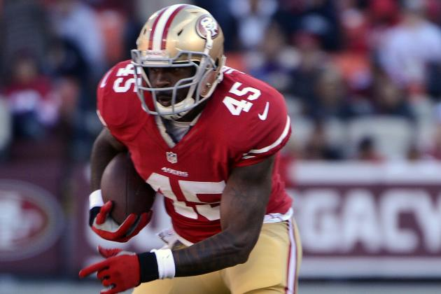Brandon Jacobs Defers Injury Inquiries to Jim Harbaugh