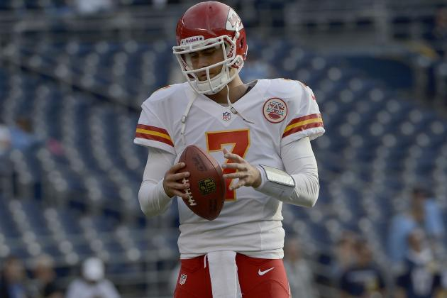 Cassel Will Start at QB for Chiefs at Pittsburgh