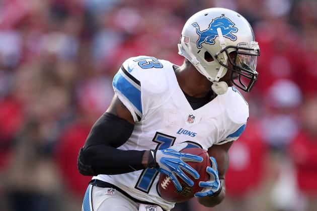 Lions' WR Nate Burleson Understands He Might Be Unemployed in 2013