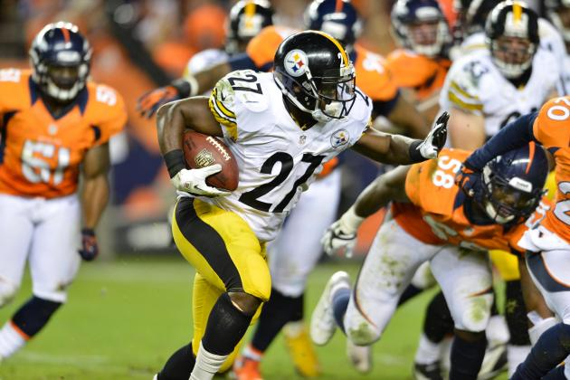 Jonathan Dwyer: Steelers RB a Risky Fantasy Play for Week 10