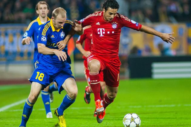 Bayern Hit Champions League Form as Pizarro Hat Trick Leaves Selection Dilemma
