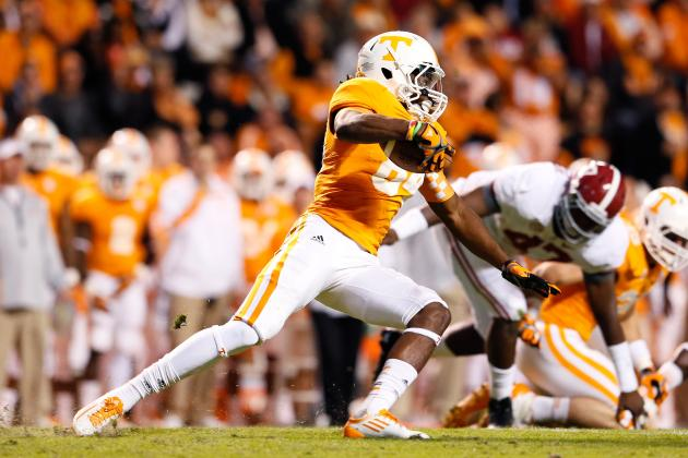 Patterson Re-Emerges as Vols' Receiving Threat