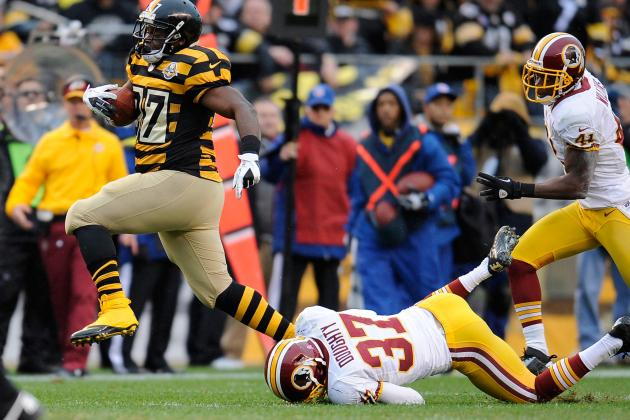 Jonathan Dwyer: Steelers' Star RB Is Fantasy Must Start vs. Chiefs