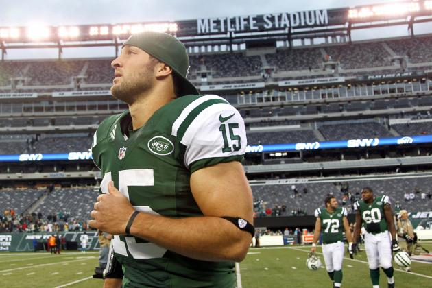 Tim Tebow: Undefined Role Only Further Pushes QB into NFL Irrelevancy