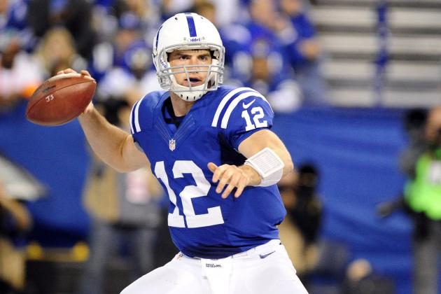 The 8 Ways Andrew Luck Is Light Years Ahead of Other Rookie QBs