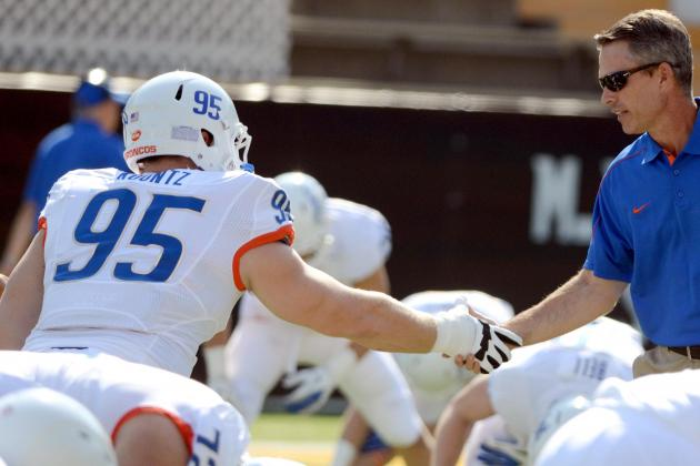 Boise State Senior Darren Koontz Steps into Starting Role with Atkinson Injury
