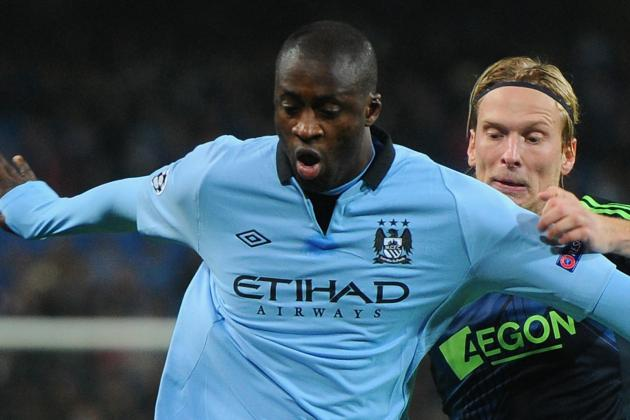 Yaya Touré Blames Referee for Manchester City's Failure to Beat Ajax