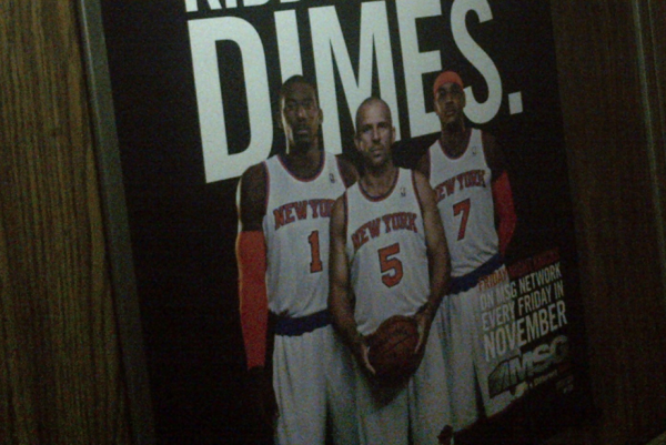 MSG Network Suffers Ad Fail, Takes Down Controversial Knicks Posters