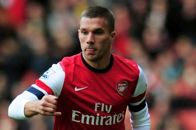 I Want to Play as a Central Striker for Arsenal, Says Podolski